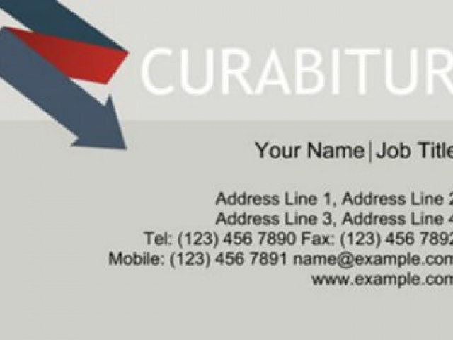 Curabitur Business Card