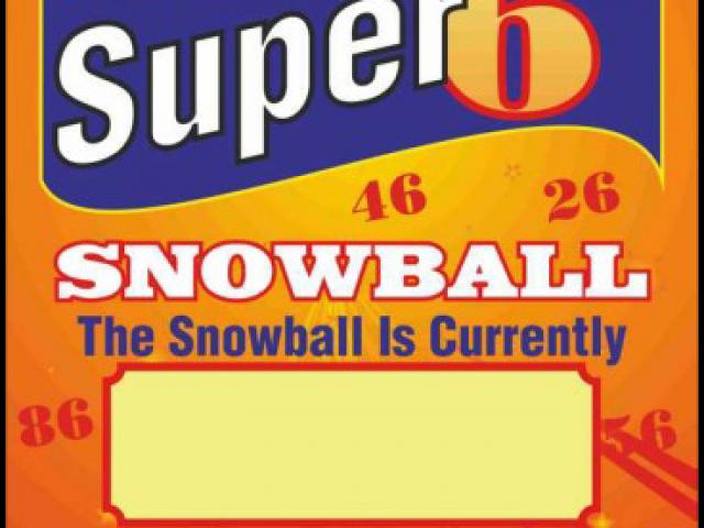 Super 6 Snowball Poster