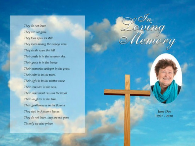 In Loving Memory Order Of Service