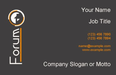 Forum Business Card