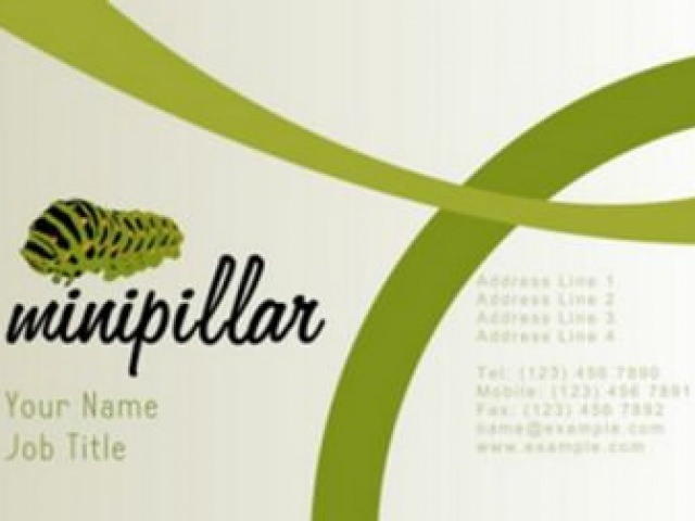 Minipillar Business Card